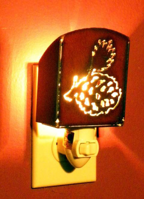 Iron Pinecone Nightlight