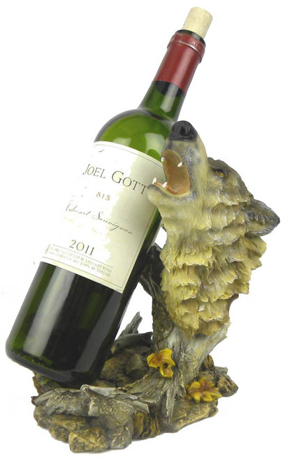 Wolf Wine Bottle Holder