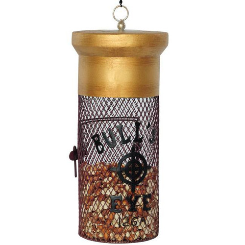 Shotgun Shell Mesh Bird Feeder