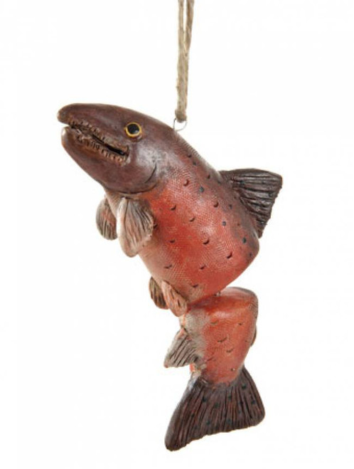 Dangly Salmon Ornament