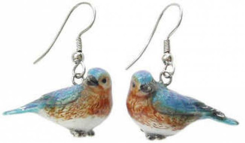 Bluebird Earrings