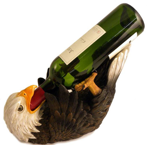 American Bald Eagle Wine Bottle Holder
