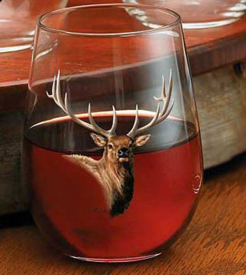 Elk Stemless Wine Glass