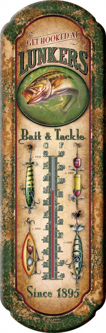 "Largemouth Bass ""Lunkers Bait"" Thermometer"
