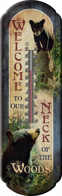 Bears Welcome Thermometer