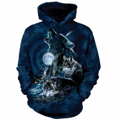 Bark at the Moon Classic Hooded Sweatshirt