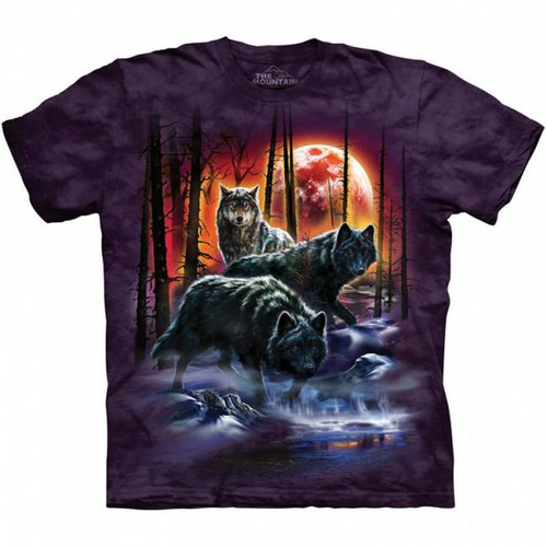 Fire and Ice Wolves Classic Short Sleeve T-Shirt