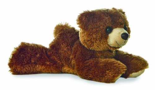"""Barnsworth"" Brown Bear Plush Stuffed Animal"