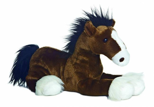 """Captain"" Horse Plush Stuffed Animal"