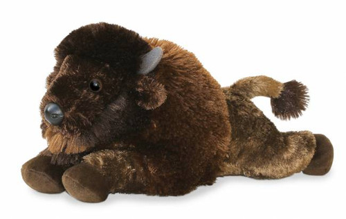 """Benny"" Bison Plush Stuffed Animal"