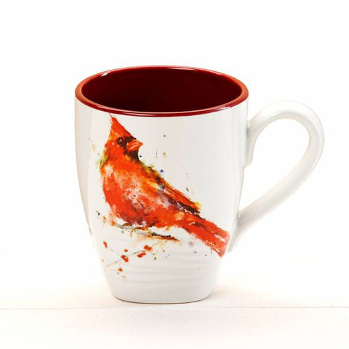 Watercolor Cardinal Coffee Mug