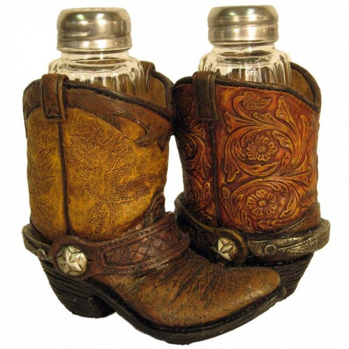 Boots Salt and Pepper Shakers