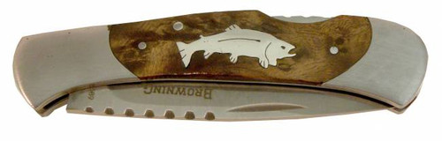 Browning Folding Lock-back Pocket Knife - Trout
