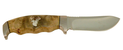 Browning Skinner Knife with Sheath - Whitetail Deer