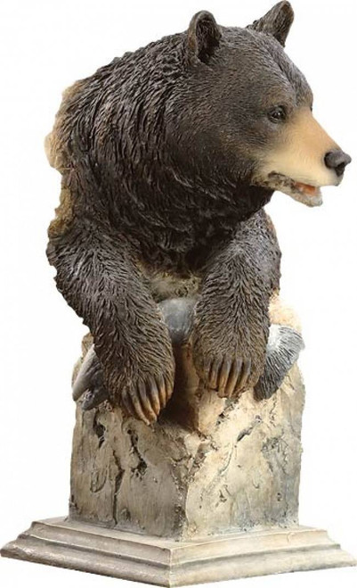 """Handful"" Black Bear Sculpture"