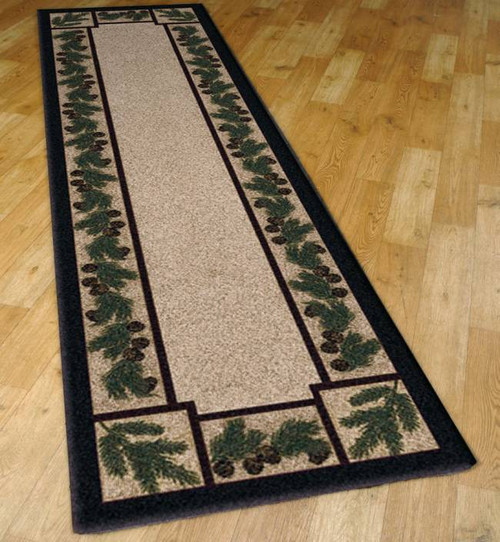 Pinecone Forest 2' by 8' Rug