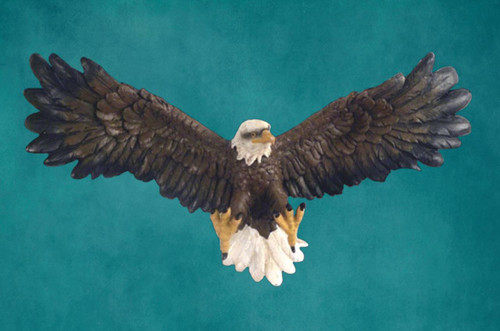 Eagle Wall Hanging Sculpture