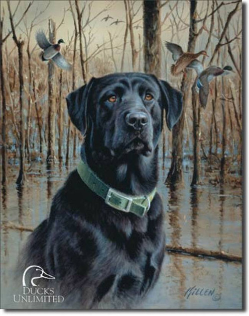 """Great Retrievers"" Ducks Unlimited Tin Sign"