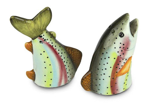 Salt & Pepper Shaker - Trout Body and Head