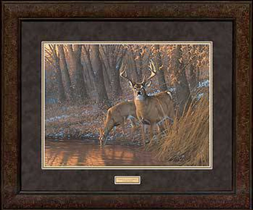 Out for a Drink - Premium Framed Print