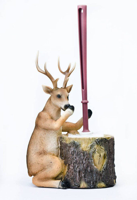 Stinky Deer Toilet Brush Holder