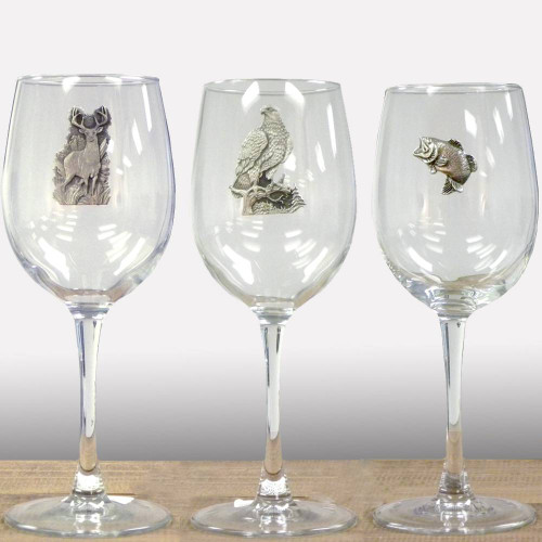 Pewter wine glass set choose 4 american expedition Big w wine glasses