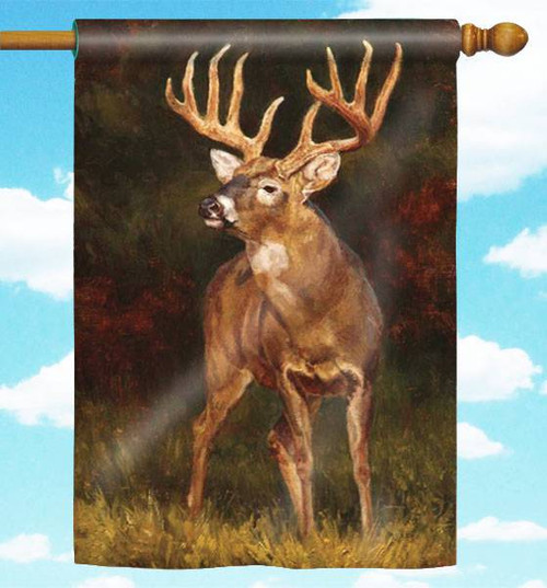 "Whitetail Deer 30"" x 44"" Flag"