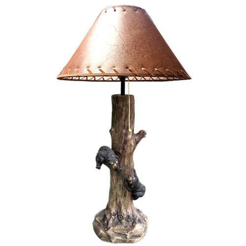Bear and Branch Table Lamp