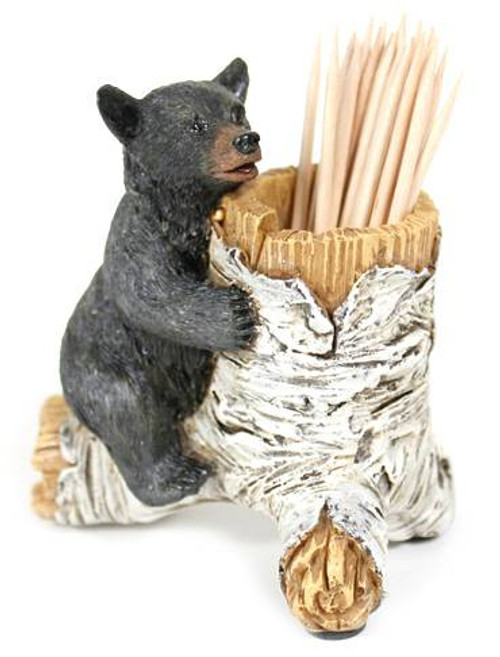 Bear Cub Toothpick Holder