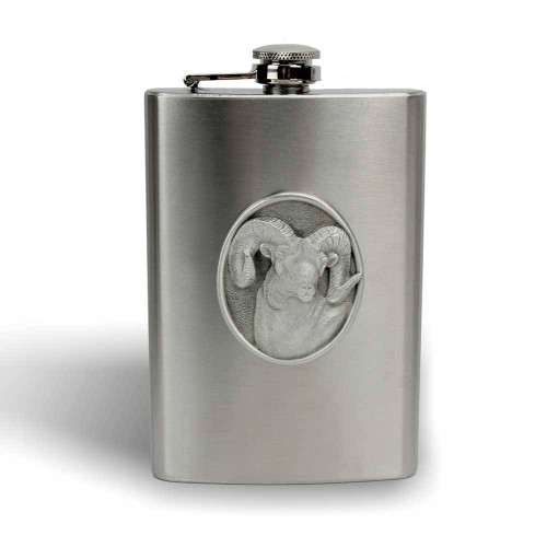 how to clean a pewter flask