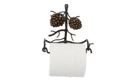 Pine Cone Wall Toilet Paper Holder
