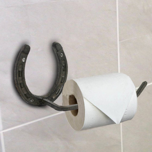 Horse Shoe Toilet Paper Holder