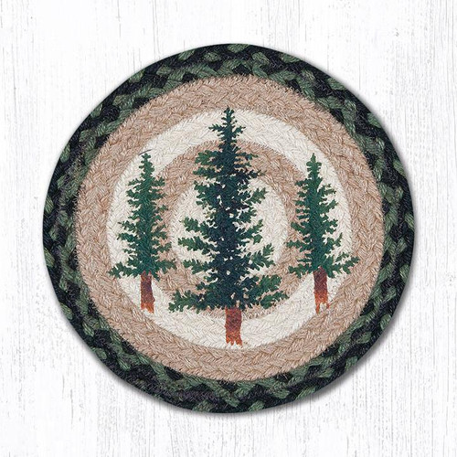 Tall Timbers Round Trivet/Placemat