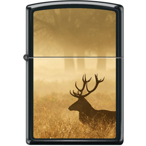 Elk at Sunrise Zippo Lighter