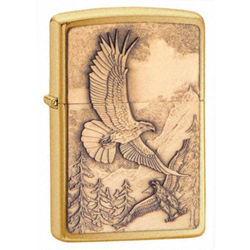 Where Eagles Dare Emblem Zippo Lighter