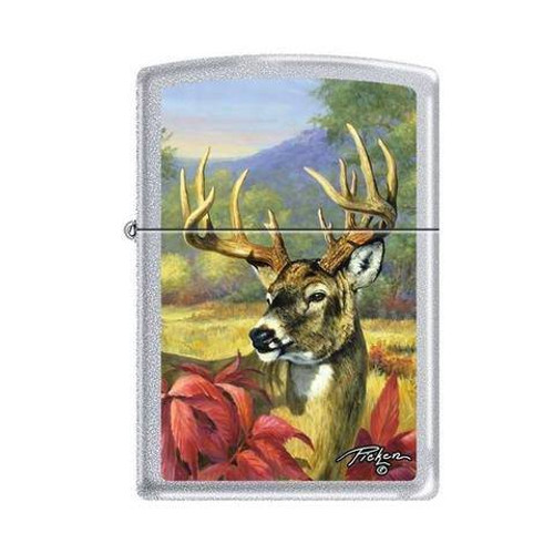 Picken's Buck Head Zippo Lighter