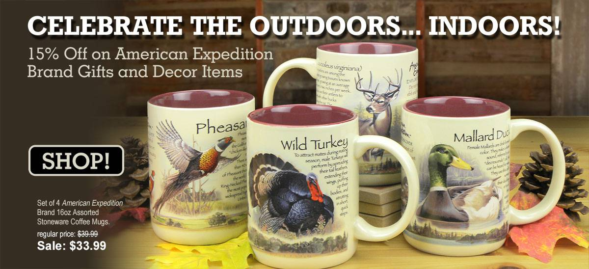 Shop for rustic wildlife gifts & decor