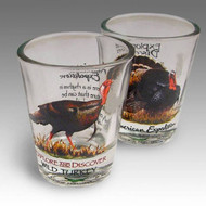 Wild Turkey Shot Glass Set of Two