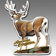 American Expedition Mule Deer Car, Truck and Gun Safe Magnet