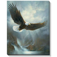 Majestic Bald Eagle Wrapped Canvas Art