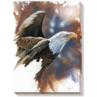 """Spirit of the Eagle (Bald Eagle)"" Wrapped Canvas Art"