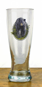 Pilsner Glass- Black Bear