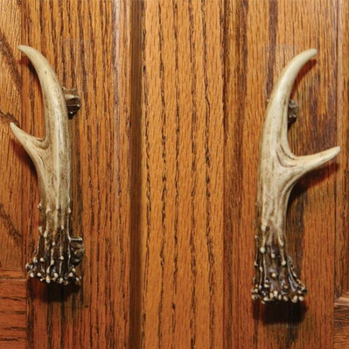 antler cabinet handles set of 2 87946