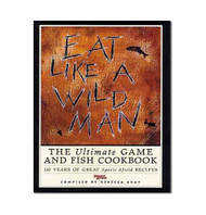 """""""Eat Like a Wild Man- Cookbook"""" Cover"""