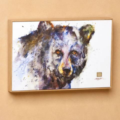 Determined Black Bear Wall Art