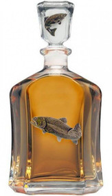 Rainbow Trout Capitol Decanter
