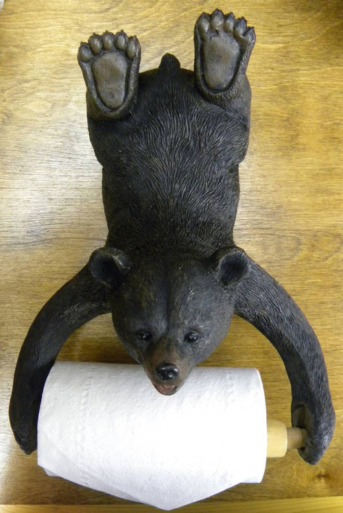 Bear toilet paper holder Animal toilet paper holder