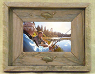 Bass 4X6 Barn Wood Photo Frame