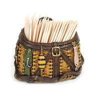 Fishing Basket Toothpick Holder