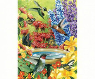 500 Piece Hummingbird Puzzle